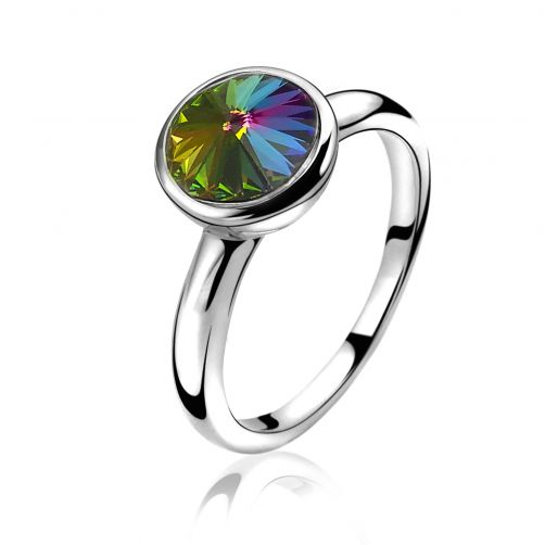 ZINZI-zilveren-ring-multicolor-ZIR1006M