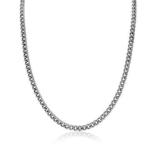 ZINZI-zilveren-gourmet-collier-4,5mm-breed-45cm-ZIC1414